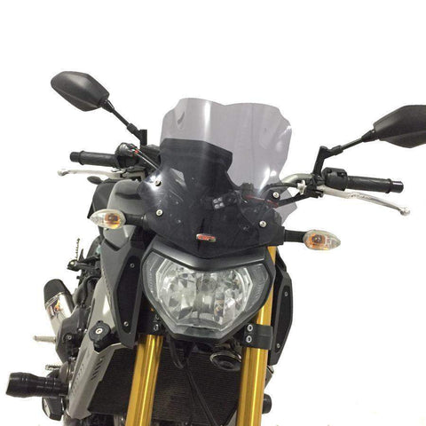 Yamaha FZ09 MT09 Windshield Windscreen 34cm  2013 2016