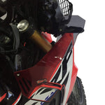 Honda CRF250 Rally Wind Deflector Pair Smoke/Clear 2017 2019