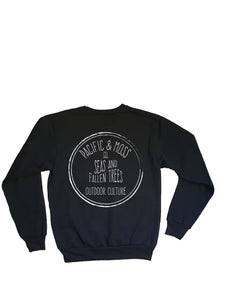 SEAS AND FALLEN TREES CREWSWEATER
