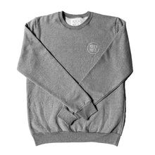 Load image into Gallery viewer, GREY PACIFIC & MOSS CREWSWEATER