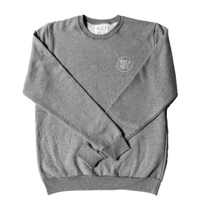 GREY PACIFIC & MOSS CREWSWEATER