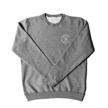 Load image into Gallery viewer, GREY SEAS AND FALLEN TREES CREWSWEATER