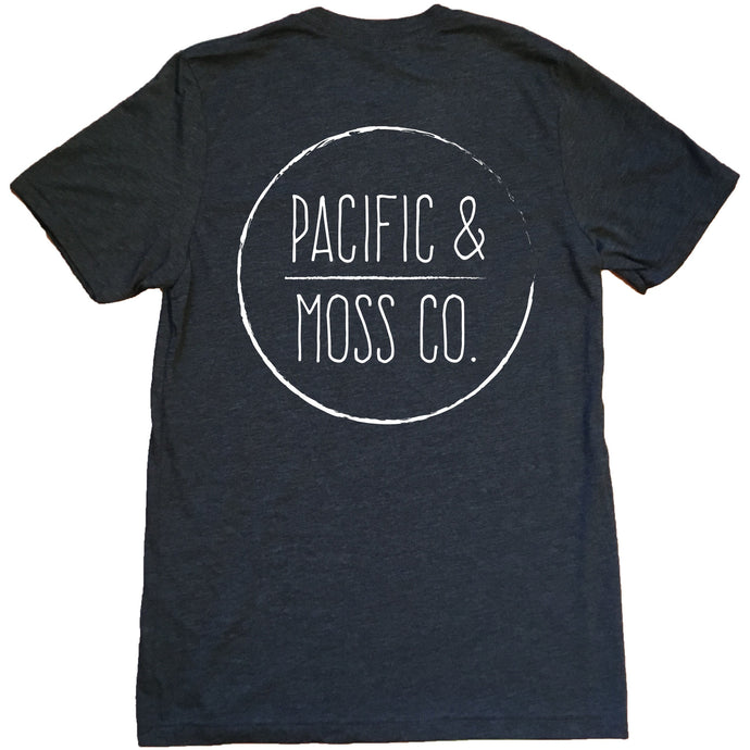 PACIFIC & MOSS TEE - FRONT/BACK LOGO