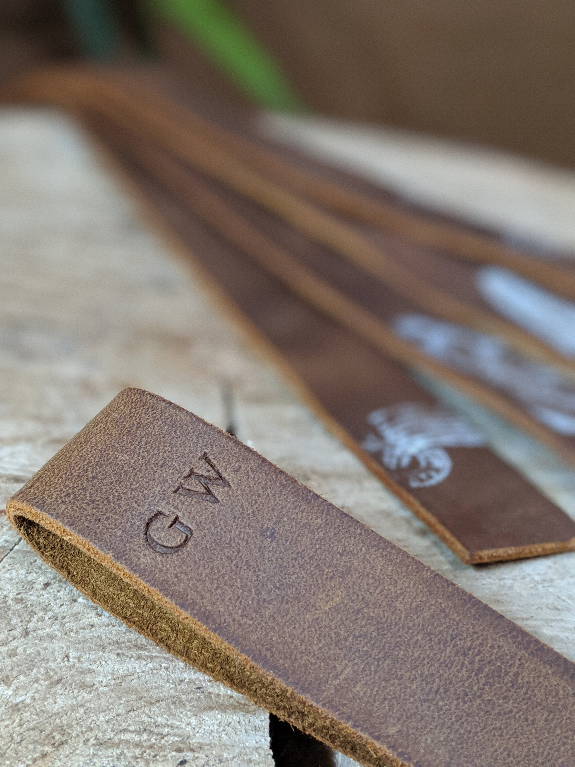 Leather Bookmark - Personalisation Included