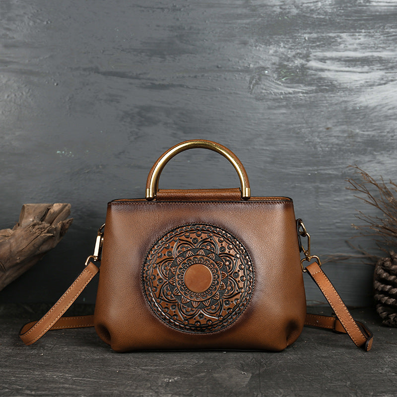 2020 New Classic Totem Genuine Leather Tote Bag