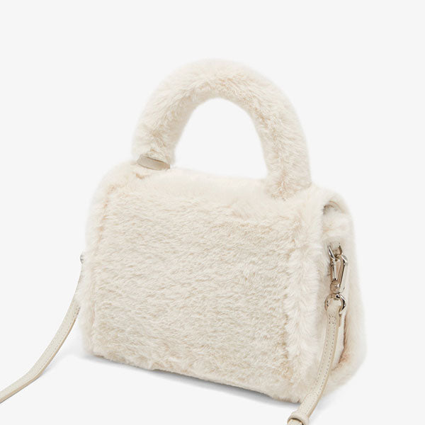 2019 New Winter Fluffy Flip Shoulder Bag