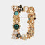 Letters Design Brooches Pins English Letter Personalized Brooches