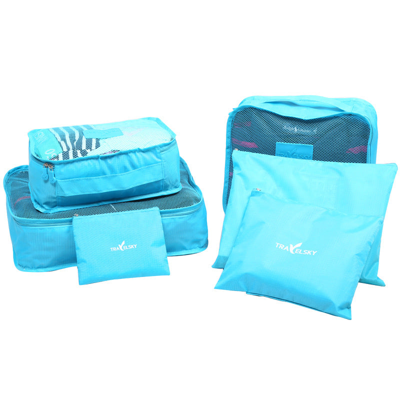Travel storage 6-piece set