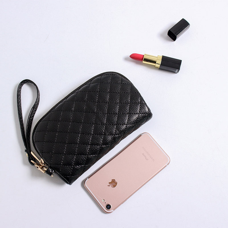 Quilted Design  Clutch Purse
