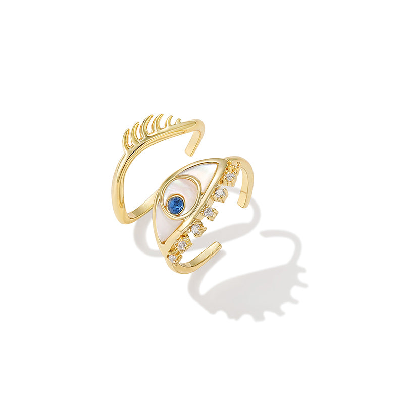 Eyes of Horus Ring Set