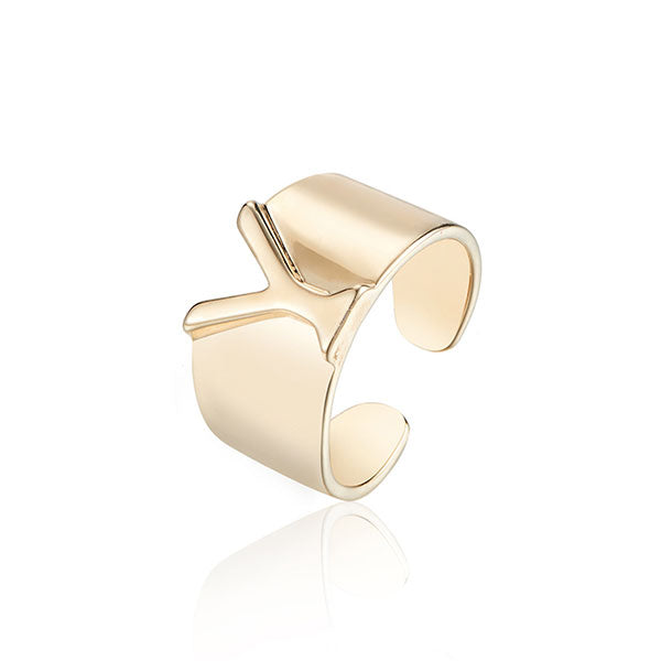 Fashion Letter Ring M&H&Y