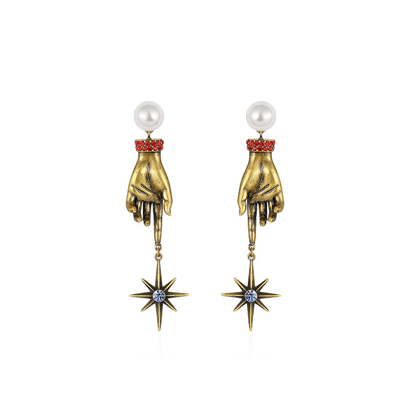 Genesis:Retro Baroque Earrings