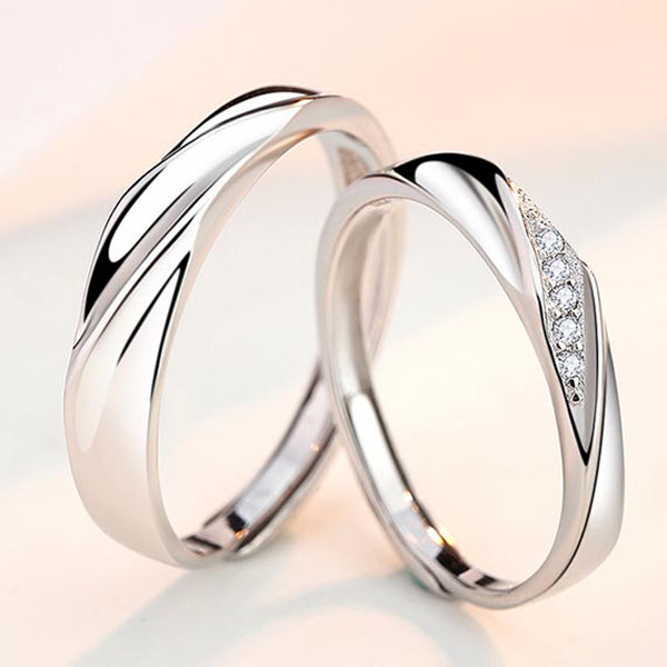 Fall In Love Together Couple Ring
