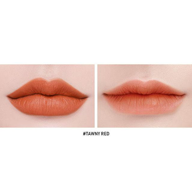 product on lips