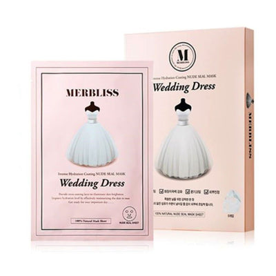 Wedding Dress Intense Hydration Coating Nude Seal Mask Pack (5pc)