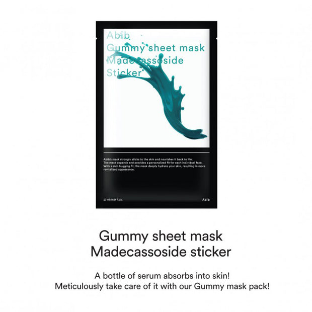 Gummy Sheet Mask Madecassoside Sticker