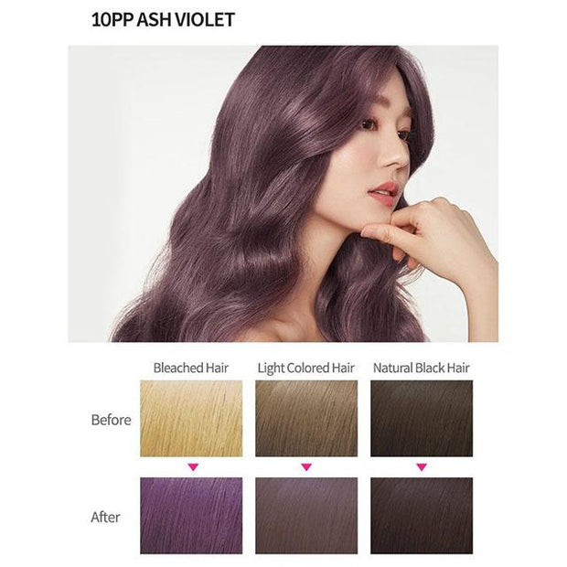 #9 colour 10pp ash violet