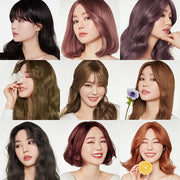 etudehouse hot style hair colouring bubble all series photos