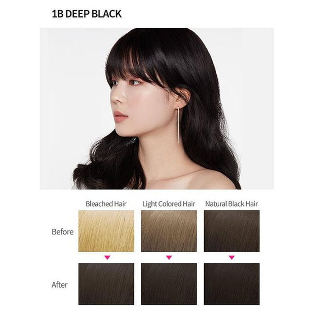 #1 colour 1b deep black