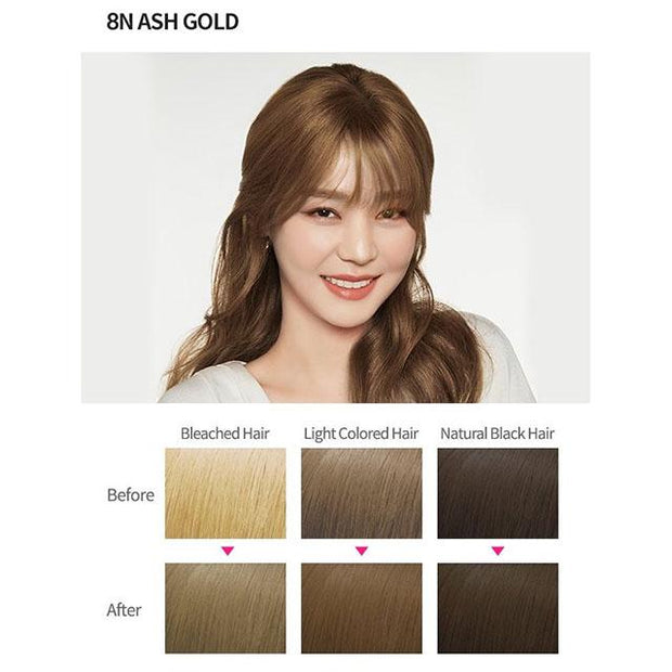 #4 colour 8n ash gold