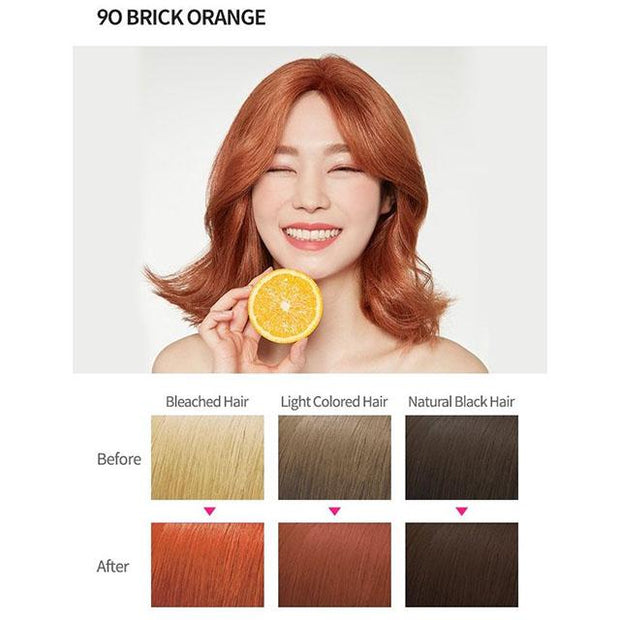 #6 colour 9o brick orange