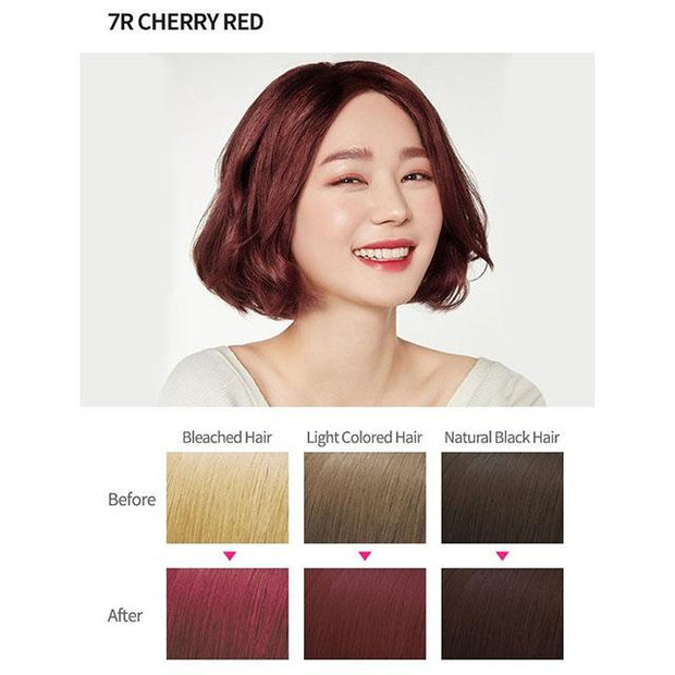 #7 colour 7r cherry red