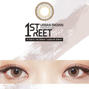 1st Street Urban Brown by Pony (1month/Box Lens)