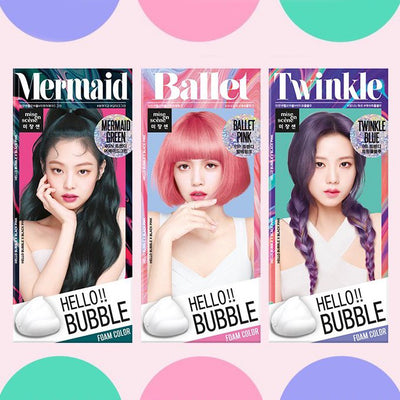 Hello!! Bubble Foam Color x Black Pink 2019 SS Limited Edition