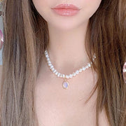 Natural Pearl Choker