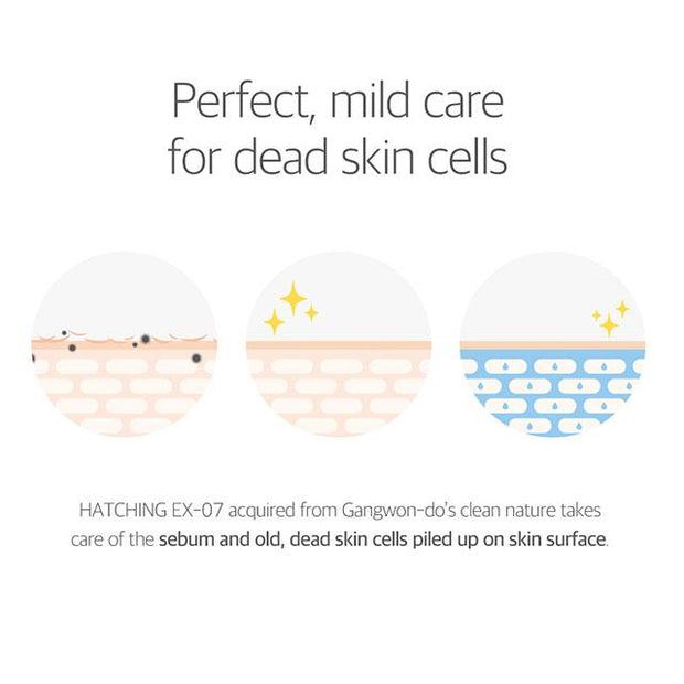 perfect, mild care for dead skin cells