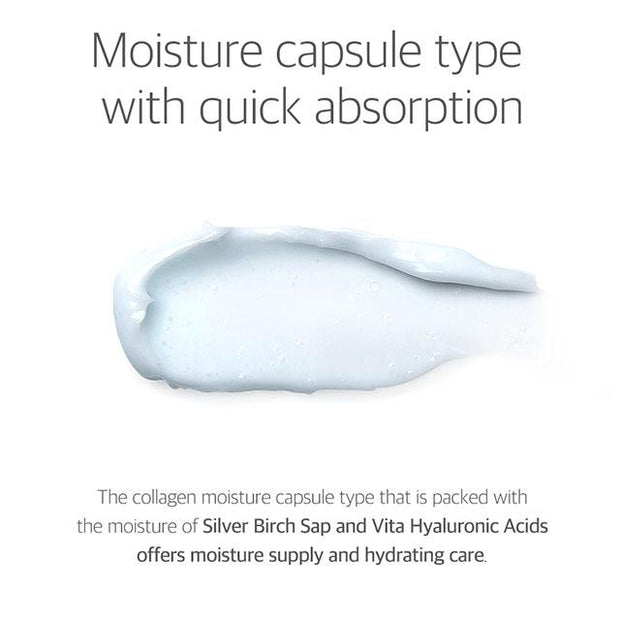 moisture capsule type with quick absorption