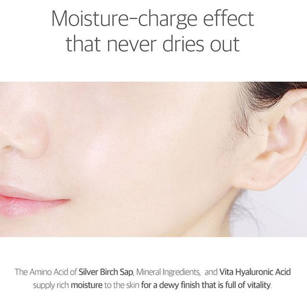 moisture-charge effect that never dries out