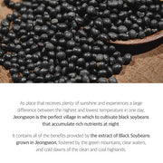 the extract of black soybeans grown in jeongseon