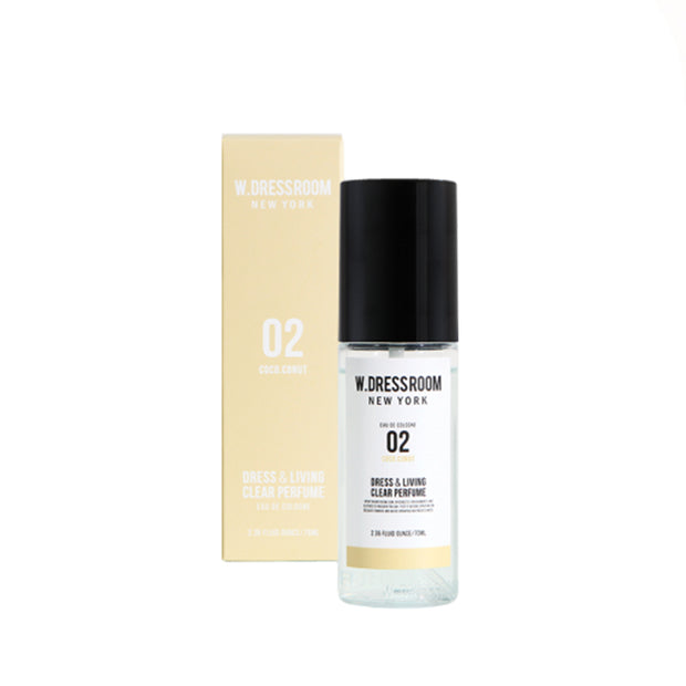 Dress & Living Clear Perfume No. 02 Coconut 70ml