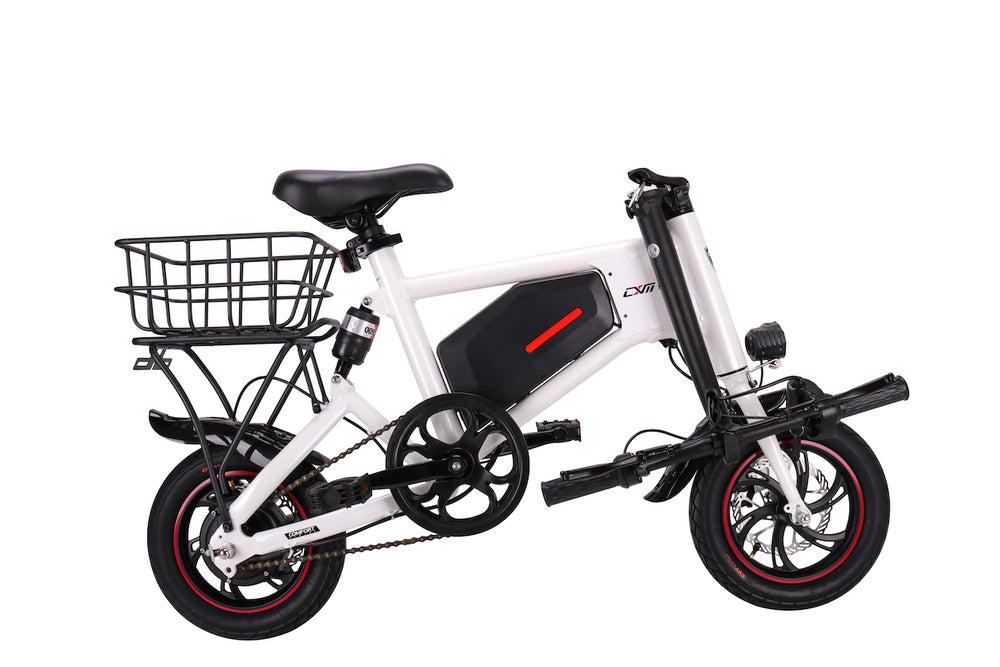 GlareWheel Electric Bike Urban Fashion High Speed 15mph Foldable Easy Carry X5-GlareWheel