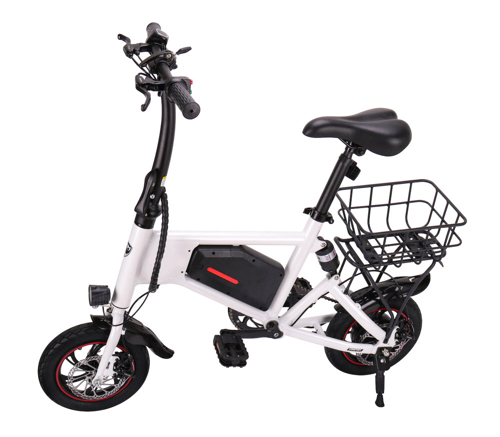 GlareWheel Electric Bike EB-X5 Basket