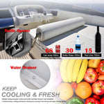 Electric Cooler Iceless Portable Freezer Refrigerator Fridge