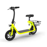 GlareWheel EB-C1 Electric Moped High Speed 15mph City Commuting Scooter