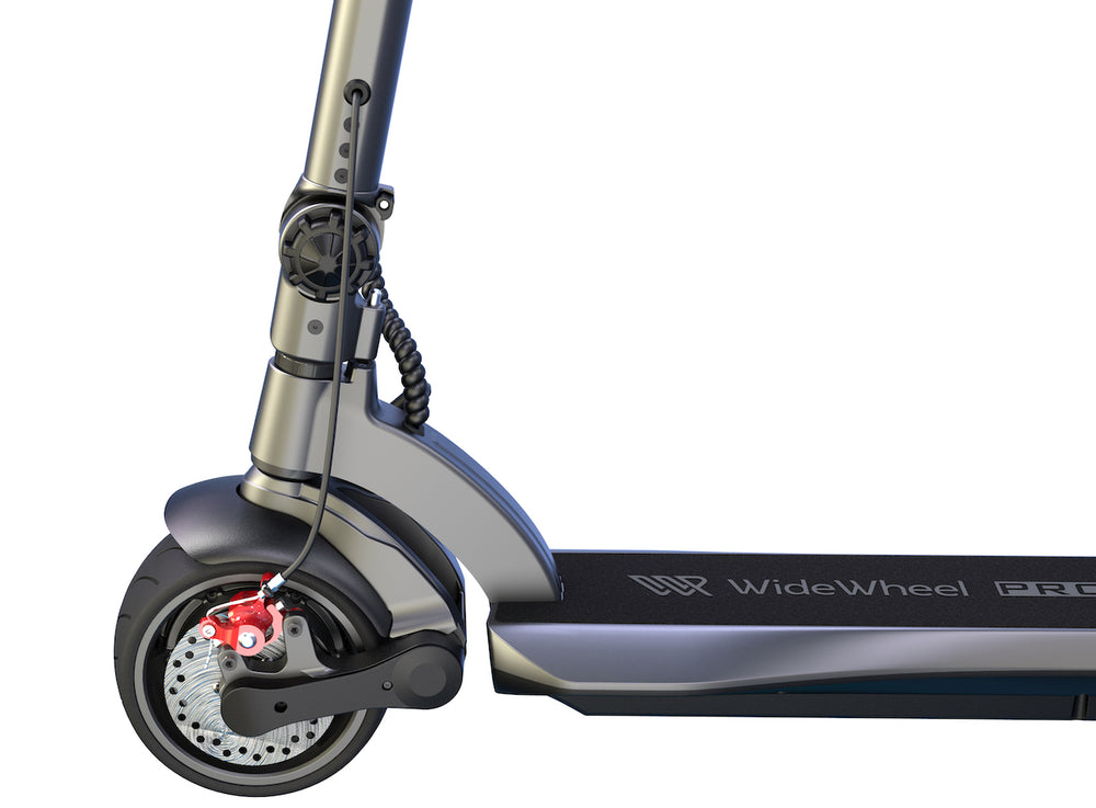 GlareWheel ES-S11PRO Adult Commute Electric Scooter Foldable Powerful Off Road