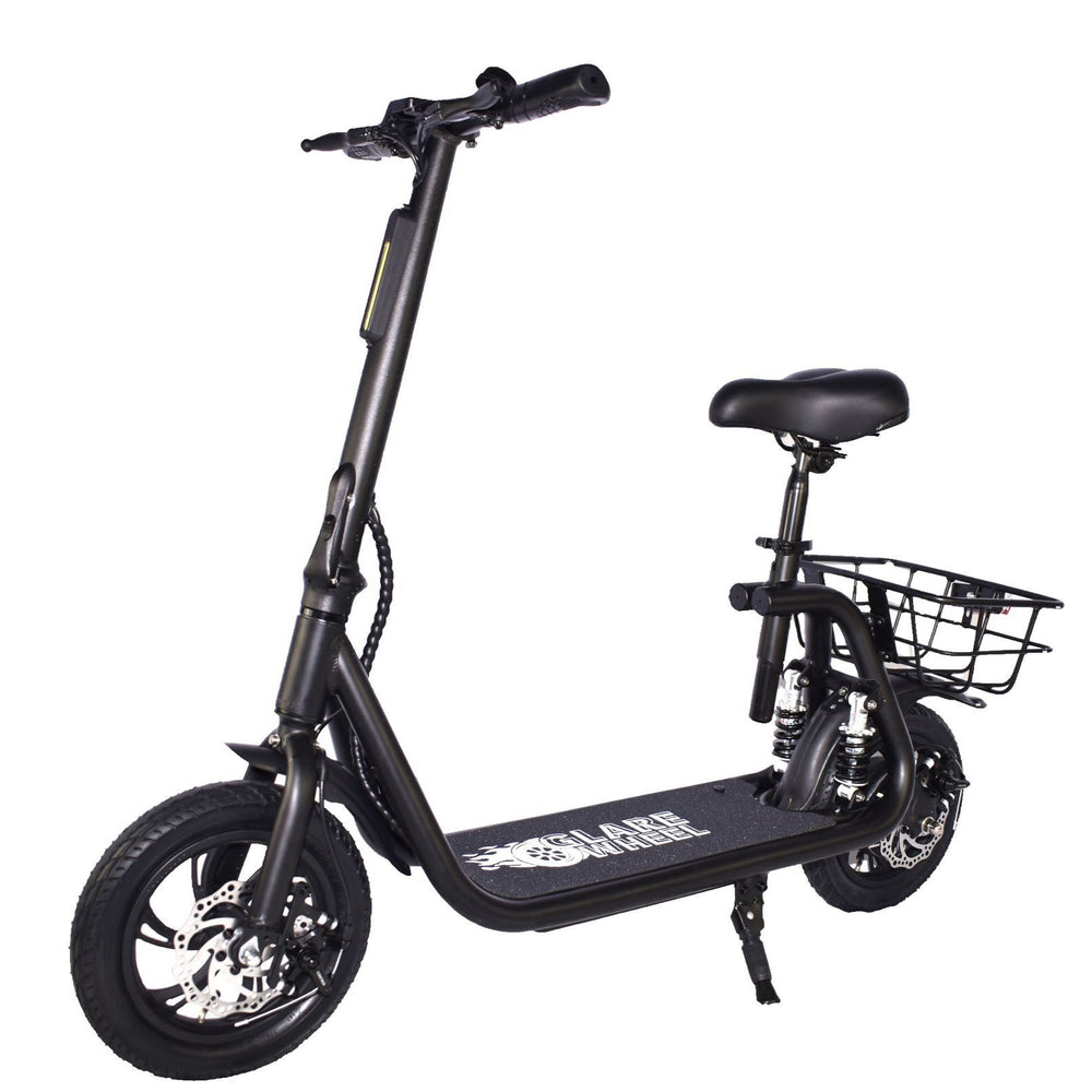 GlareWheel EB-C1PRO Electric Moped High Speed 15mph City Commuting Scooter