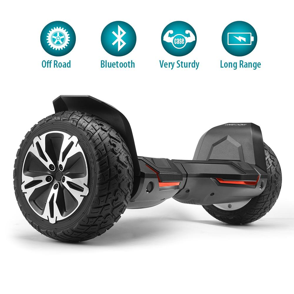 GlareWheel Offroad 8.5'' Hoverboard With Built-In Bluetooth Speaker G2