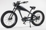 GlareWheel EB-CH Electric Bike Fat Tire 750W Cruiser 7-Speed Gear Max Speed to 28 MPH