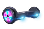 GlareWheel Black M1 Hoverboard Light Up Wheels- UL2272 Certified