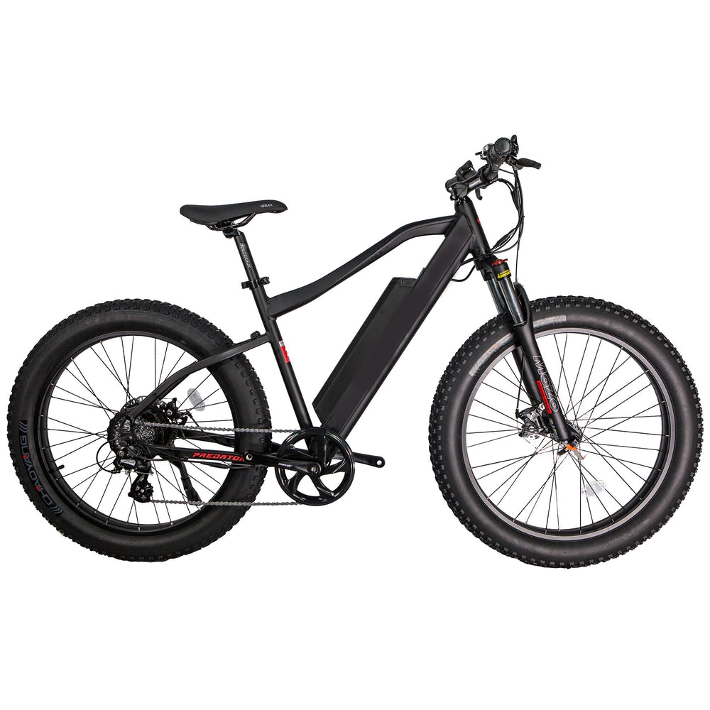 "GlareWheel EB-PR Fat Tire 26"" Aluminium Frame Suspension Fork Electric Mountain Bicycle"