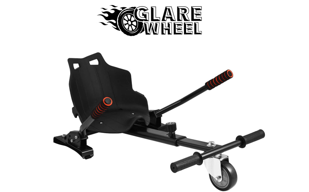 GlareWheel Buggy Attachment for Transforming Hoverboard Scooter into Go-Kart