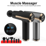 Muscle Massage Gun with 6 Heads 20 Speed High-Intensity Vibration