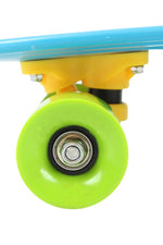 Rainbow PE Skateboard Little Cruiser For Young Skater