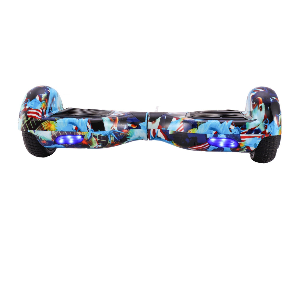 GlareWheel Statue Of Liberty Hoverboard With Built-In Bluetooth Speaker- UL2272 Certified-GlareWheel