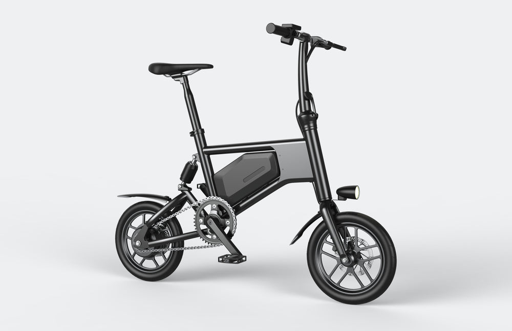 GlareWheel EB-X5 Electric Bike Urban Fashion High Speed 15mph Foldable Easy Carry