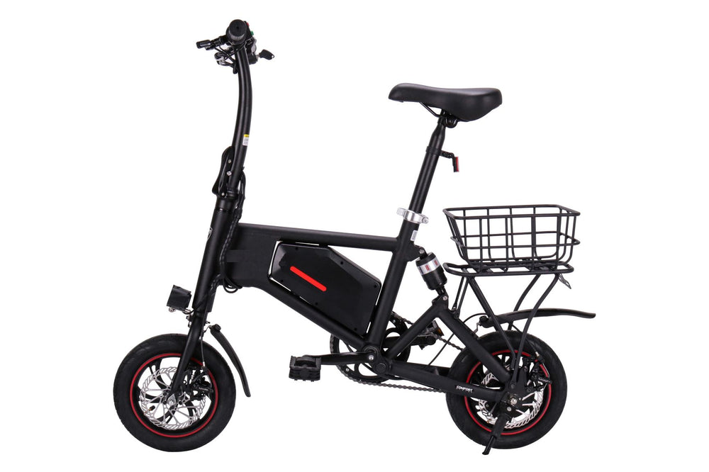 GlareWheel Electric Bike Urban Fashion High Speed 15mph Foldable Easy Carry X5